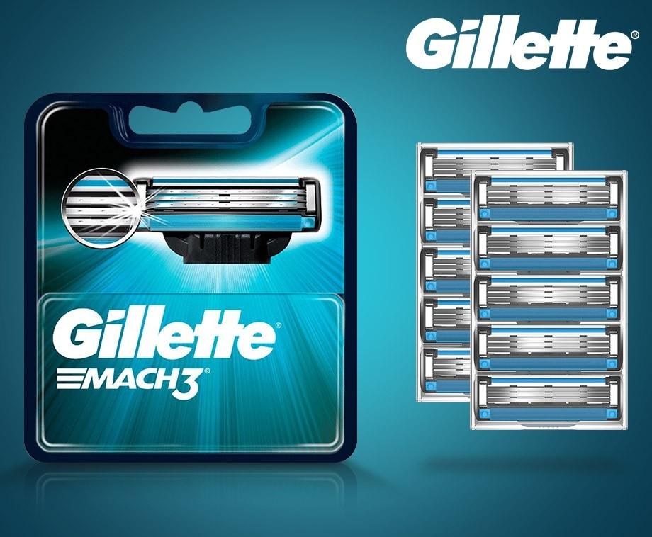 Originele 8-pack Gillette Mach3 Scheermesjes - Voordelig Scheren!