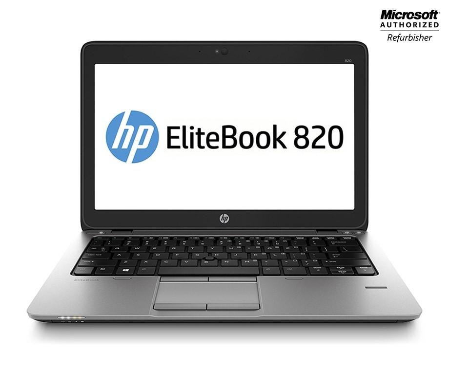 HP EliteBook 820 Remanufactured - Met 128GB SSD, 4GB RAM En Windows 10!