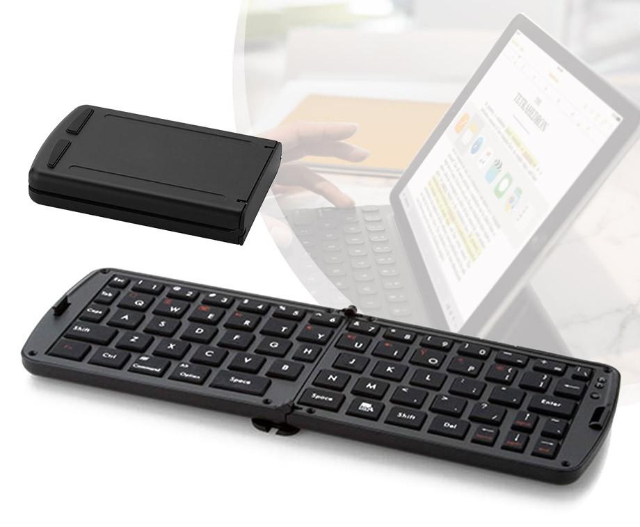 Opvouwbaar Bluetooth Toetsenbord - Snel En Gemakkelijk Typen Op Tablet En Smartphone!