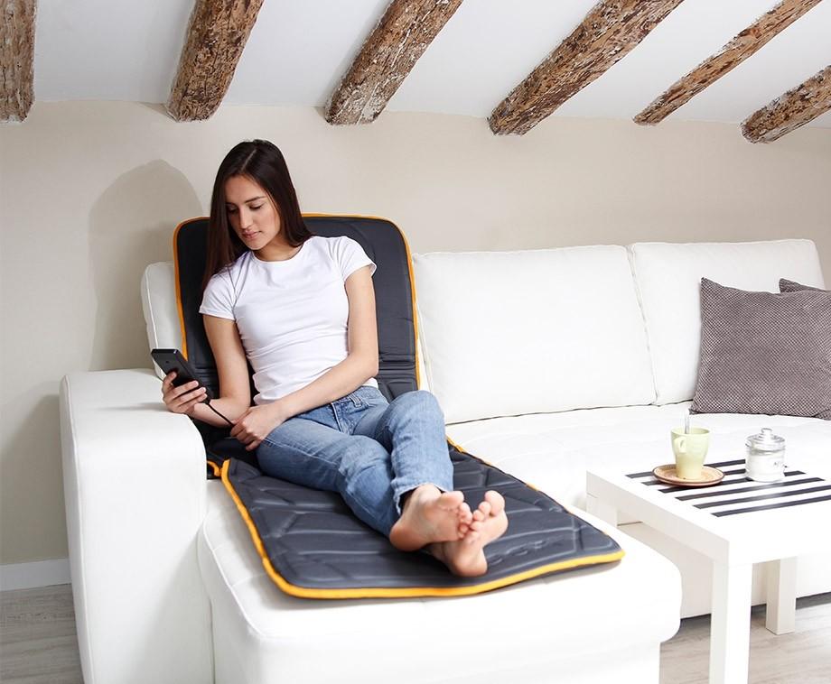 Jocca Full Body Massagemat Met Warmtetherapie - Tegen Pijn En Ter Ontspanning!