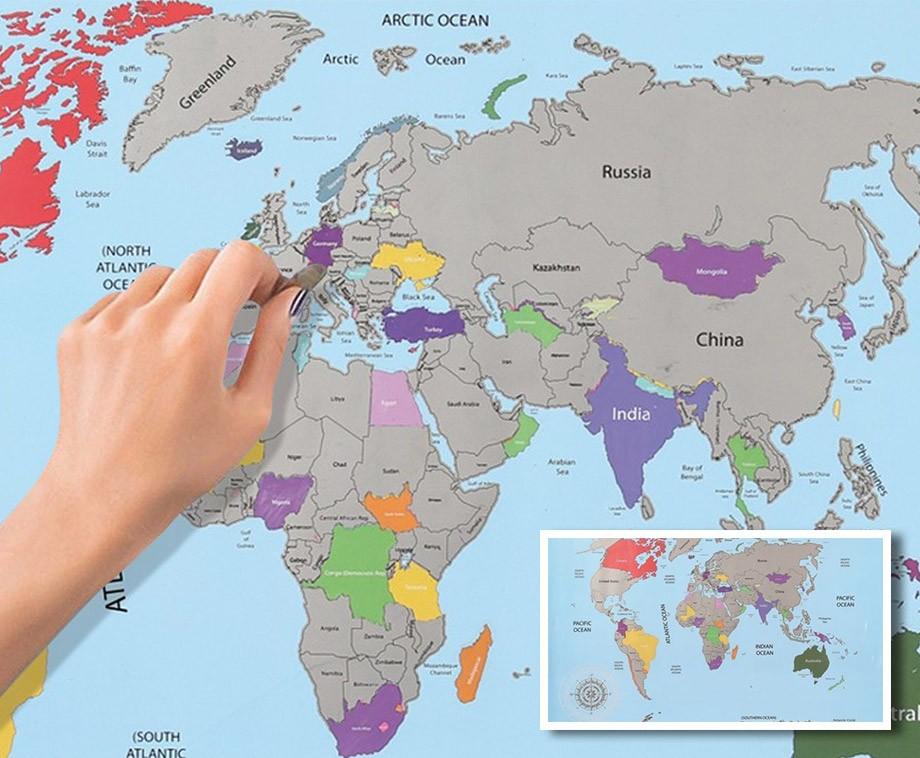Wereldkaart om te krassen hou al je bezochte bestemming bij wereldkaart om te krassen hou al je bezochte bestemming bij altavistaventures Images