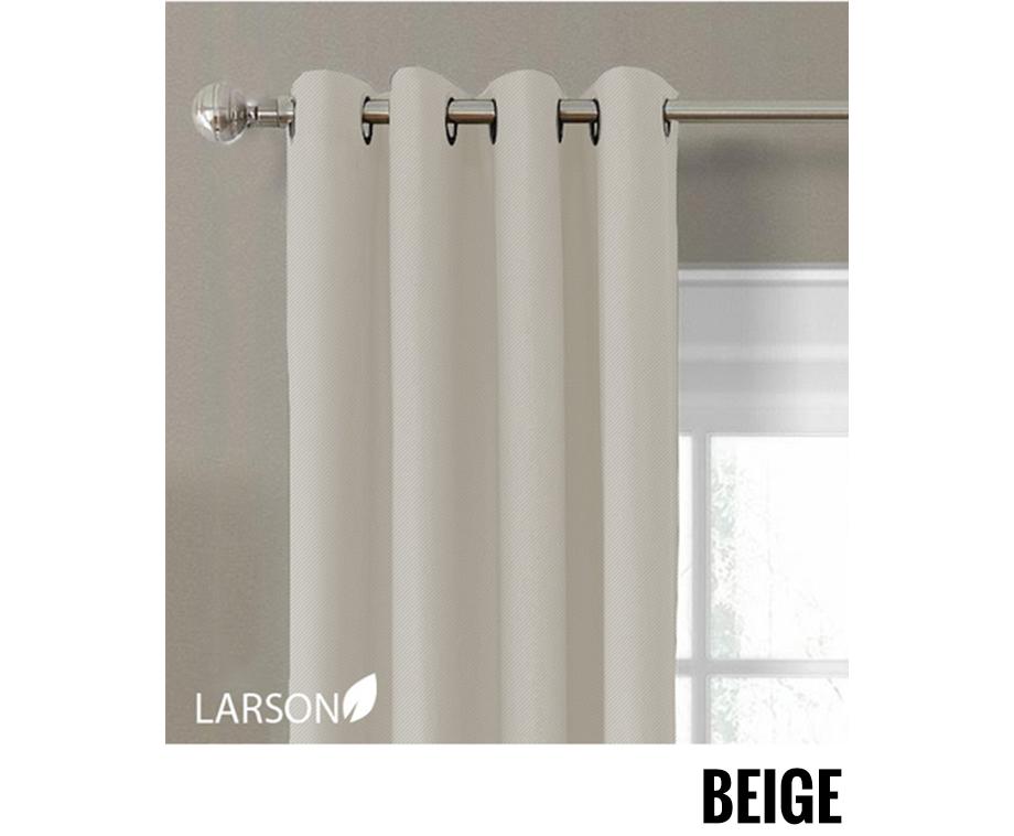 luxe verduisterende gordijnen van larson kant en klare gordijnen van 150 x 250 cm