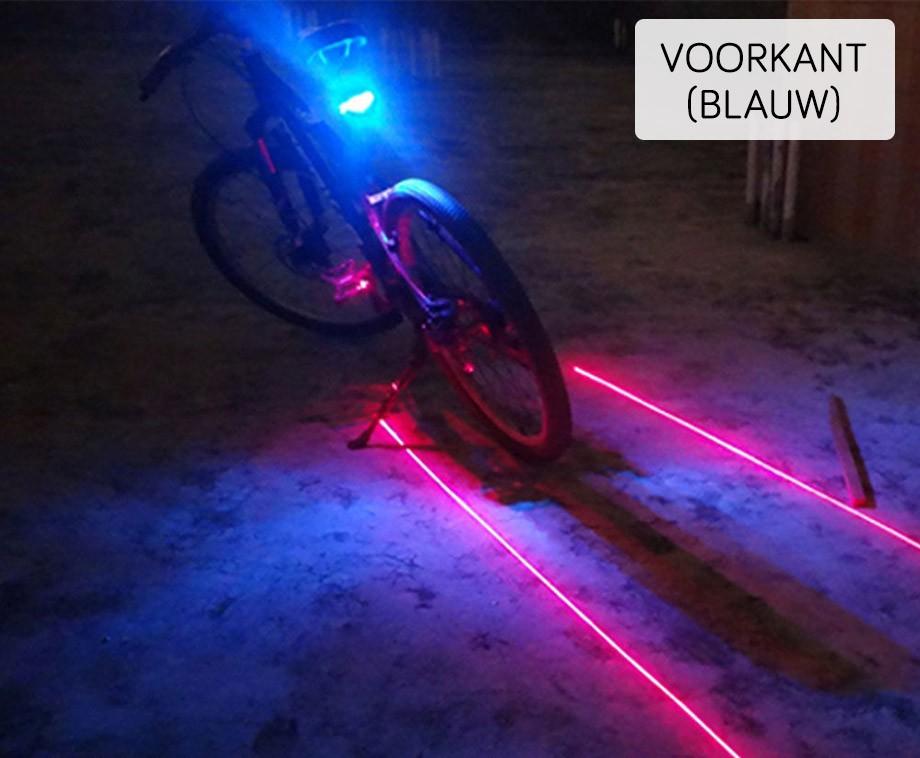 Laserprojectie Fietsverlichting - Ga Goed Verlicht De Weg Op ...