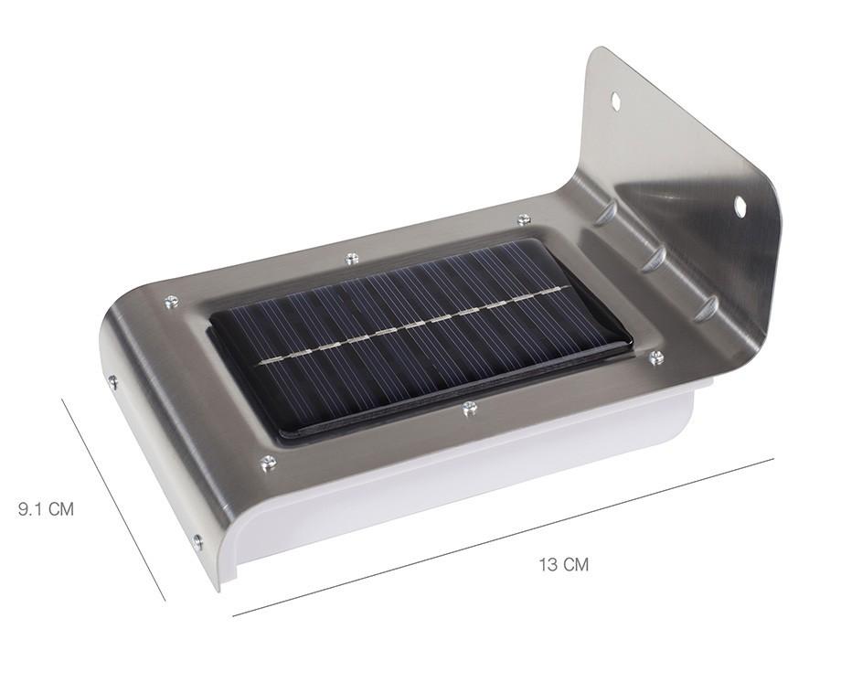 Led solar buitenlamp met bewegingssensor of stuks met
