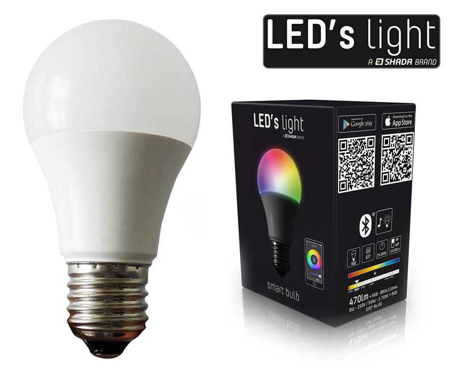 bluetooth led kleurenlamp bepaal de sfeer met je