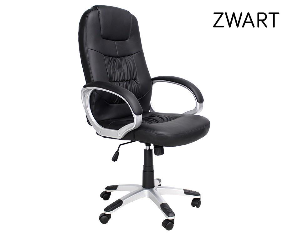 Verstelbare Bureaustoel Zwart.Luxe Verstelbare Bureaustoel In 3 Verschillende Kleuren