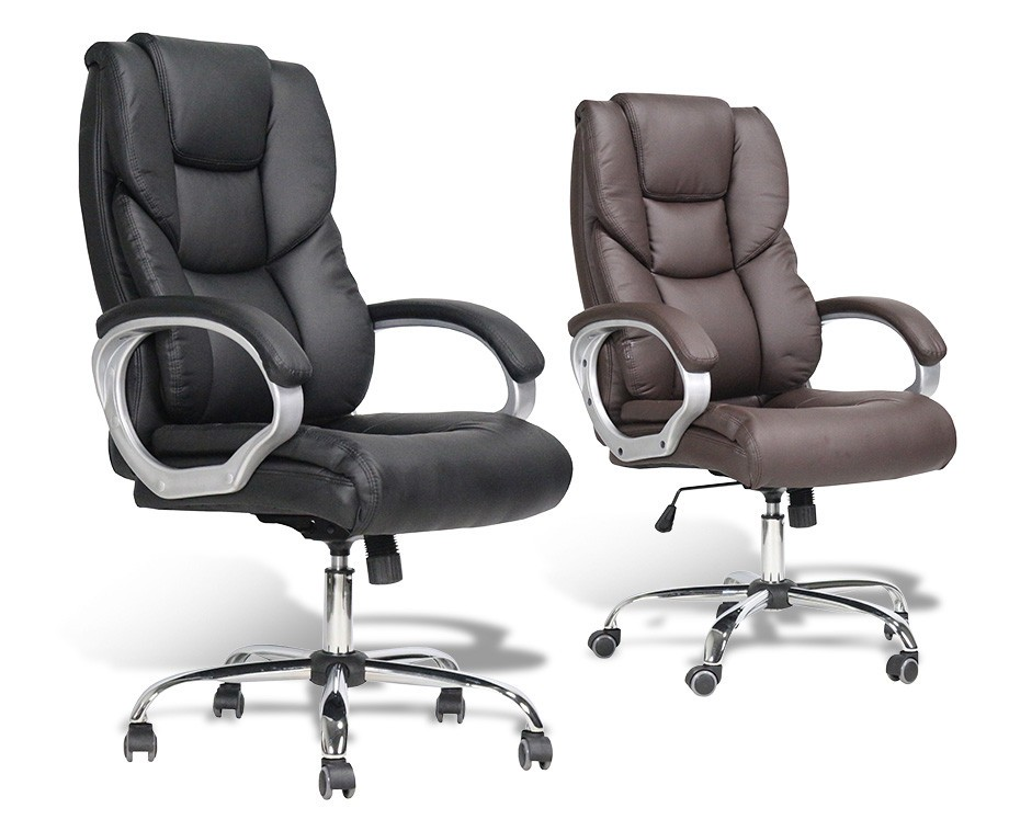 Luxe bureaustoel leer de stoel van het bureau van rood leer