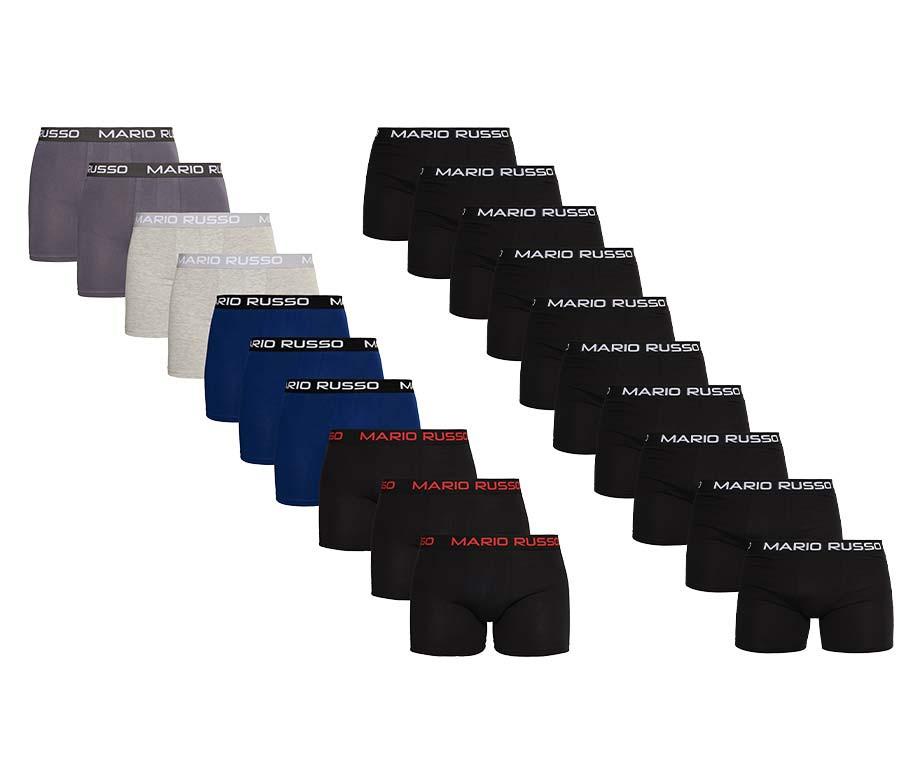 10-Pack Mario Russo Boxershorts - Topkwaliteit Waar Je Jaren Mee Vooruit Kunt!