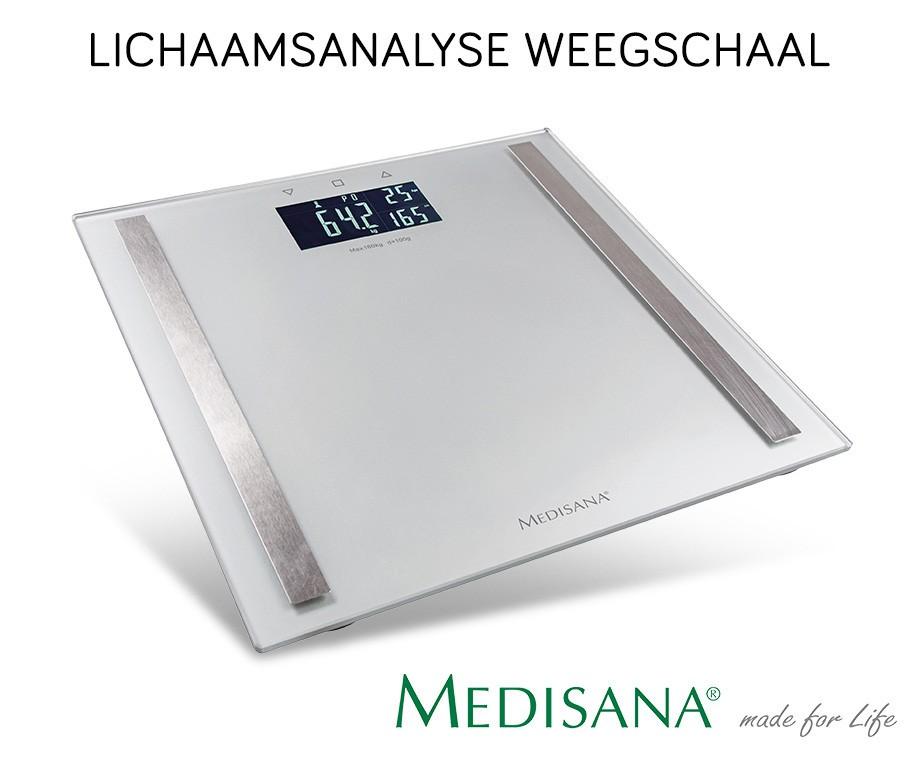 medisana weegschaal optioneel met lichaamsanalyse! dagelijksmedisana weegschaal optioneel met lichaamsanalyse!