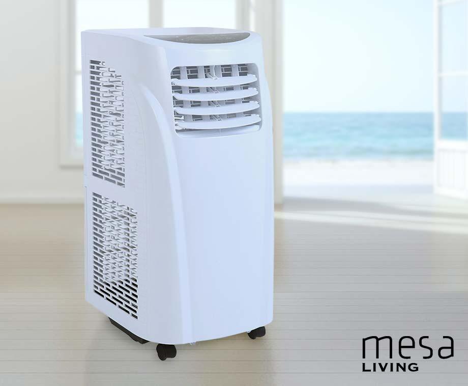 Krachtige Mobiele Airconditioner - Koelen, Ontvochtigen En Ventileren!