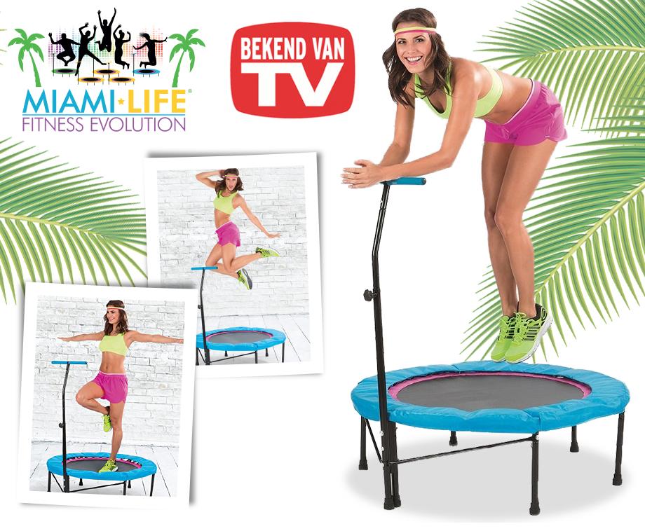 Miami Life Trampoline Bekend van TV