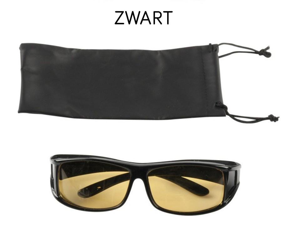 e7962c91a242a5 Night Vision Nachtbril Deluxe Voor Mannen En Vrouwen 1+1 GRATIS ...