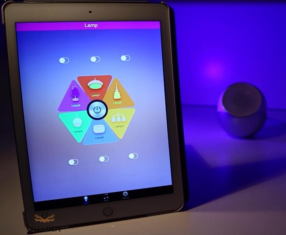 O Daddy Lampen : O daddy smart bluetooth moodlight met app om licht te bedienen