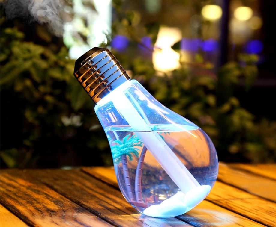 LED Lamp Luchtbevochtiger - Met Kleuren Verlichting!