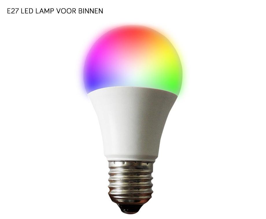 Led 39 s light rgb verlichting met app voor binnen of for Led verlichting voor tennisbanen
