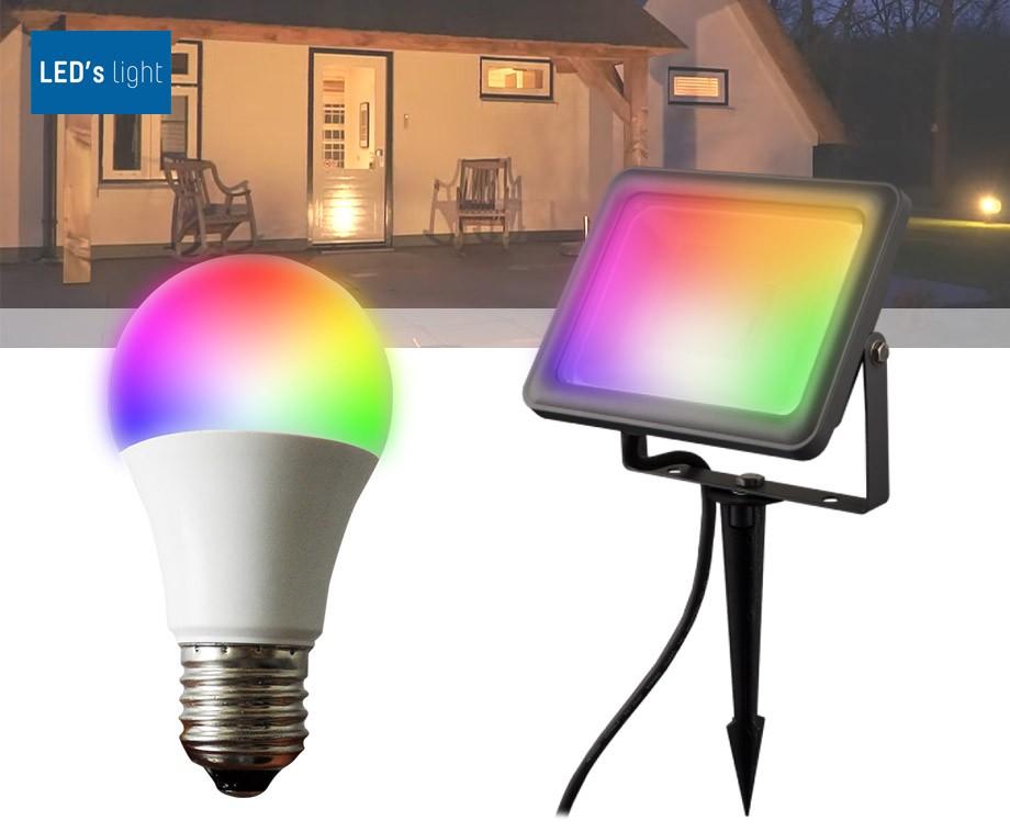 LED's Light RGB Verlichting Met App - Voor Binnen Of Buiten!