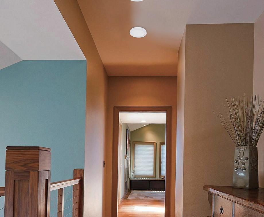 Inbouw Plafondlamp LED-Rond model (6W)