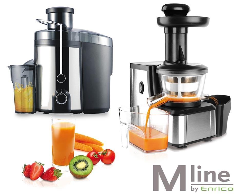 M-Line Slow Juicer Of Sapcentrifuge - Ideaal voor Alle Soorten Sap van Groenten & Fruit ...
