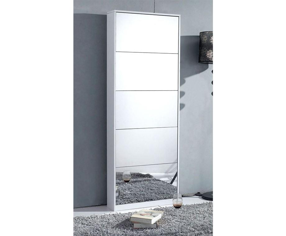 Schoenenkast Met Spiegel : Schoenenkast met spiegels voor 20 paar schoenen verkrijgbaar in