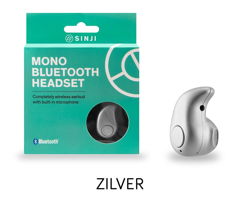 Sinji Draadloze Bluetooth Headset - Verkrijgbaar In 3 Kleuren!
