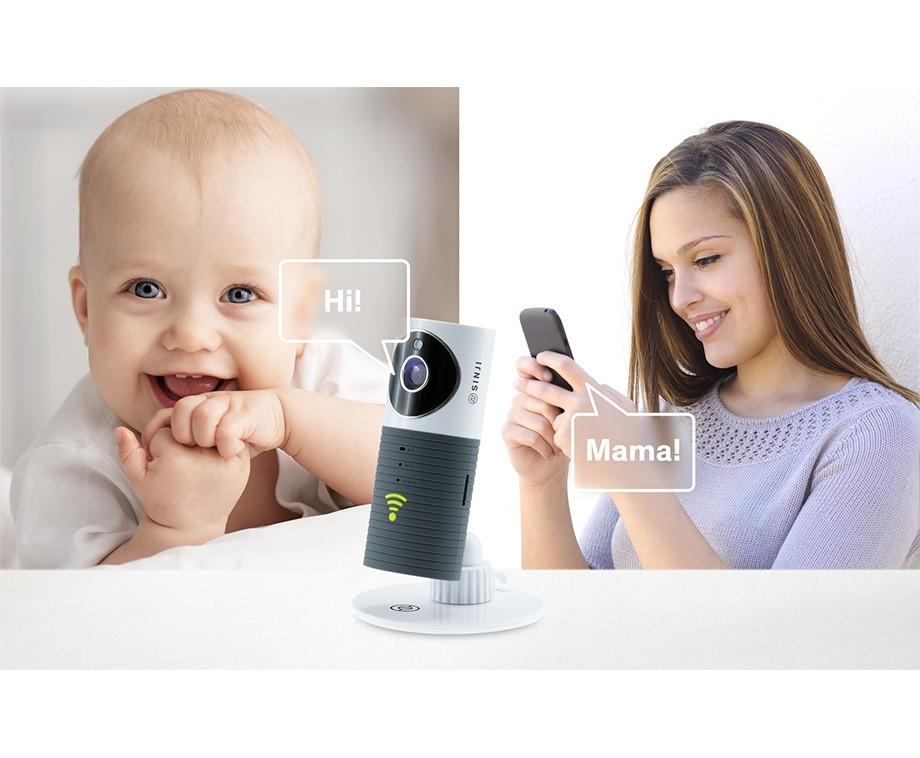 Sinji Indoor Smart Wifi Camera - Ideaal Ter Beveiliging Of Als Babyfoon!