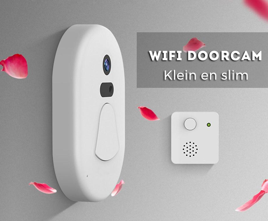 Smart WiFi Camera Deurbel - Zie Overal Wie Er Voor De Deur Staat!