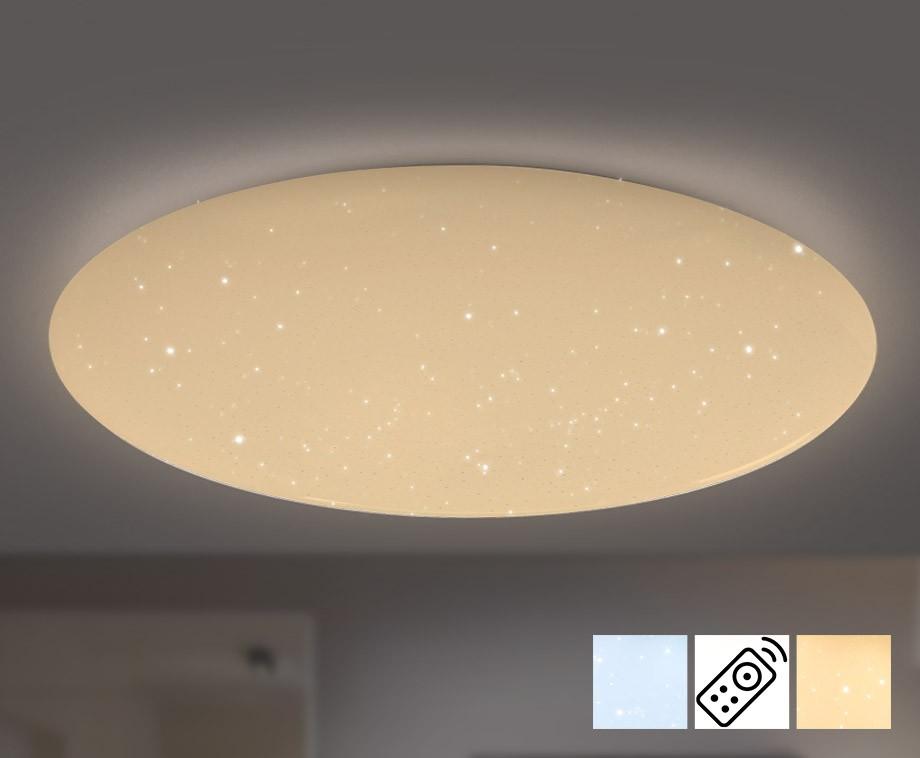 Grote Sprankelende Sterrenhemel Plafondlamp - Dimbaar En In Kleur Te ...