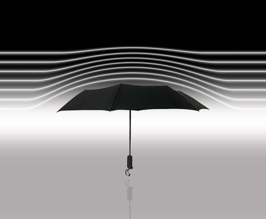 Onverwoestbare Stormparaplu - Bestand Tegen Zware Windstormen En Regenbuien!