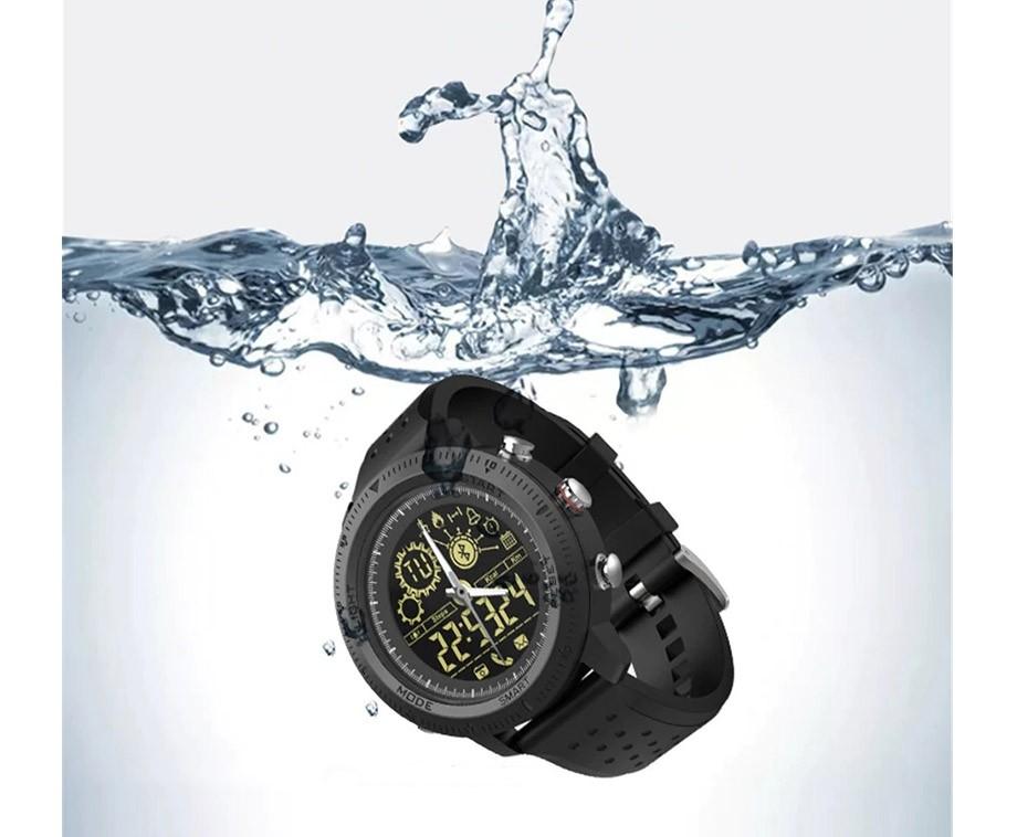 TacWatch 500 Militaire Smartwatch - Robuust Aluminium Herenhorloge!