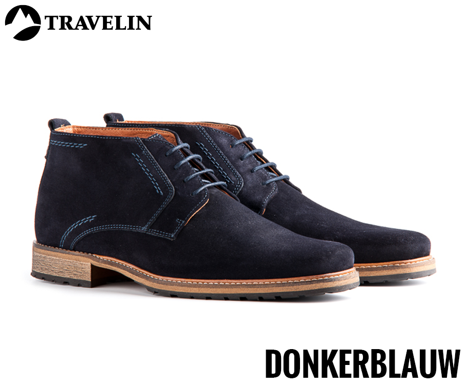 Chaussures Sombres Pour Les Hommes Travelin MmVuNIs