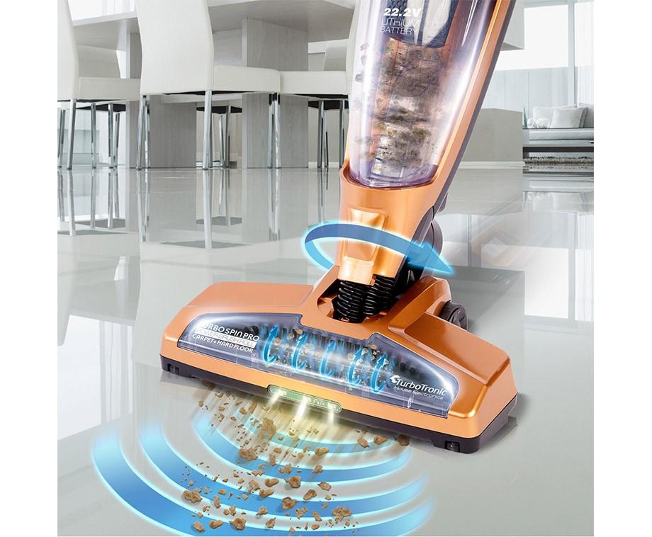 Turbotronic Aqua Snoerloze Stofzuiger - In Eén Keer Stofzuigen En Dweilen!