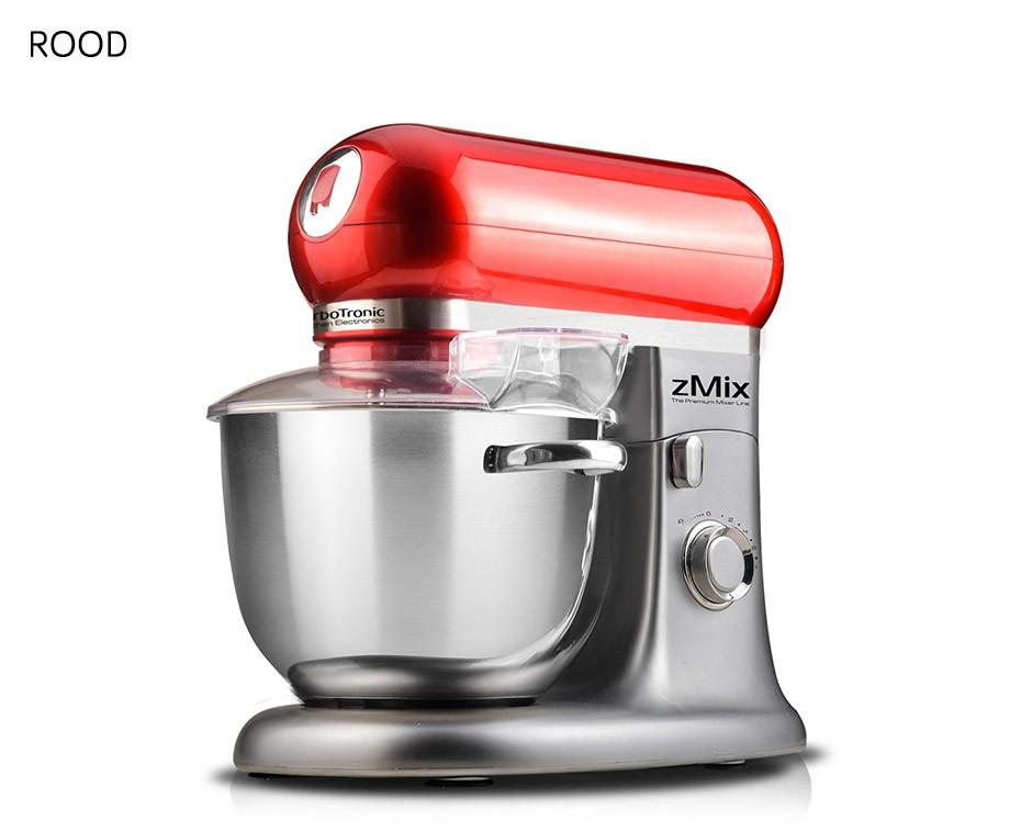 TurboTronic Professionele Keukenmachine - Grote 6L RVS Mengkom En 1800W Vermogen!