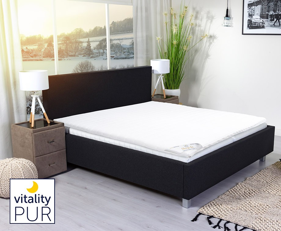 traagschuim topper 180x200 good topper x trady bezug sillux versteppt cm matras ikea kaltschaum. Black Bedroom Furniture Sets. Home Design Ideas