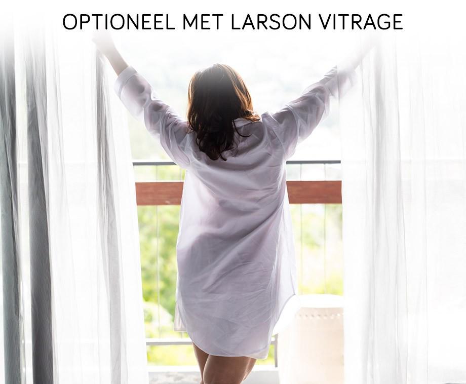 Larson Verduisterende Gordijnen (Met Vitrage) - Kant En Klare ...