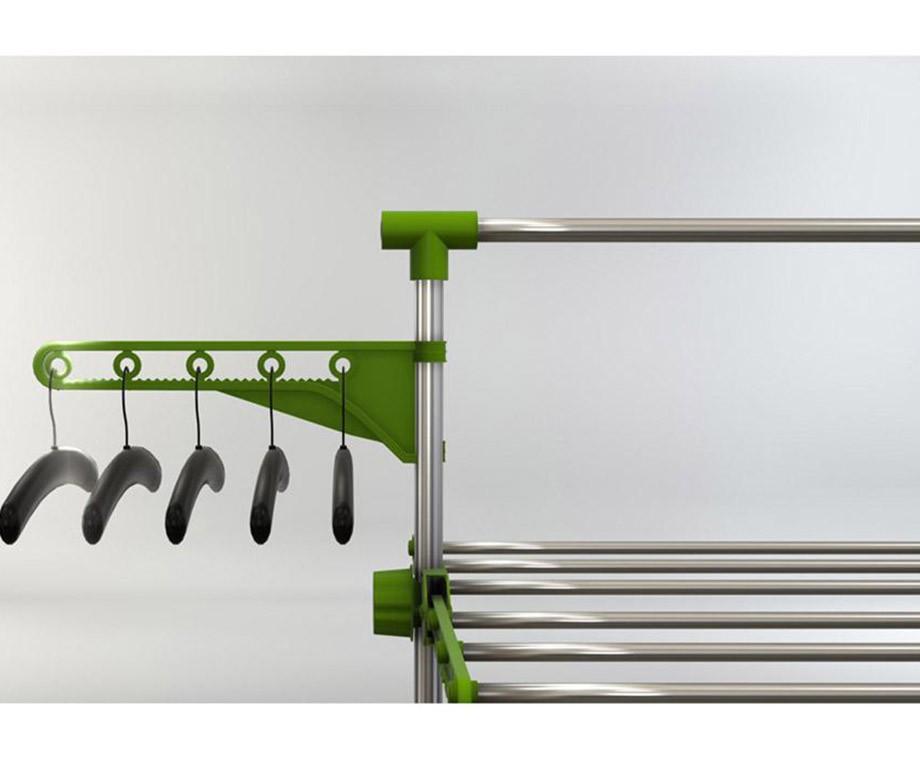Multifunctionele Wasrekken - Nooit Meer Ruimtegebrek Voor Je Schone Was!