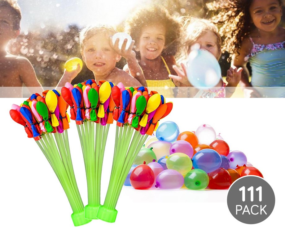Magische Waterballonnen 111-Pack  - Super Snel Meerdere Ballonnen Vullen!