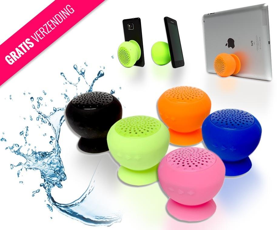 Waterdichte Bluetooth Speaker Met Microfoon - Verkrijgbaar In 5 ...