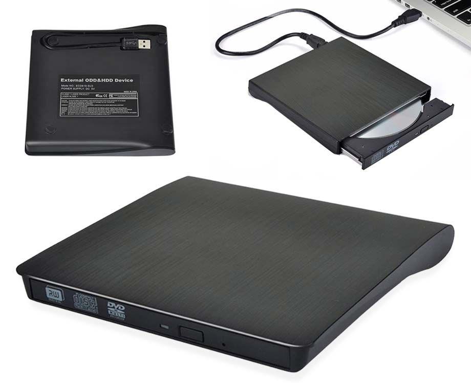 Parya Externe CD + DVD Speler En Brander - Geschikt Voor Alle Laptops En PC ...