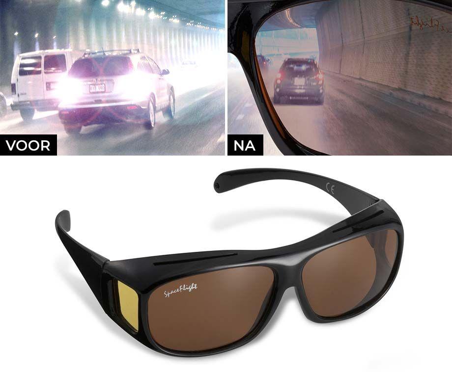 Nachtzichtbril met Polariserende Glazen - Vandaag 1+1 GRATIS! ...