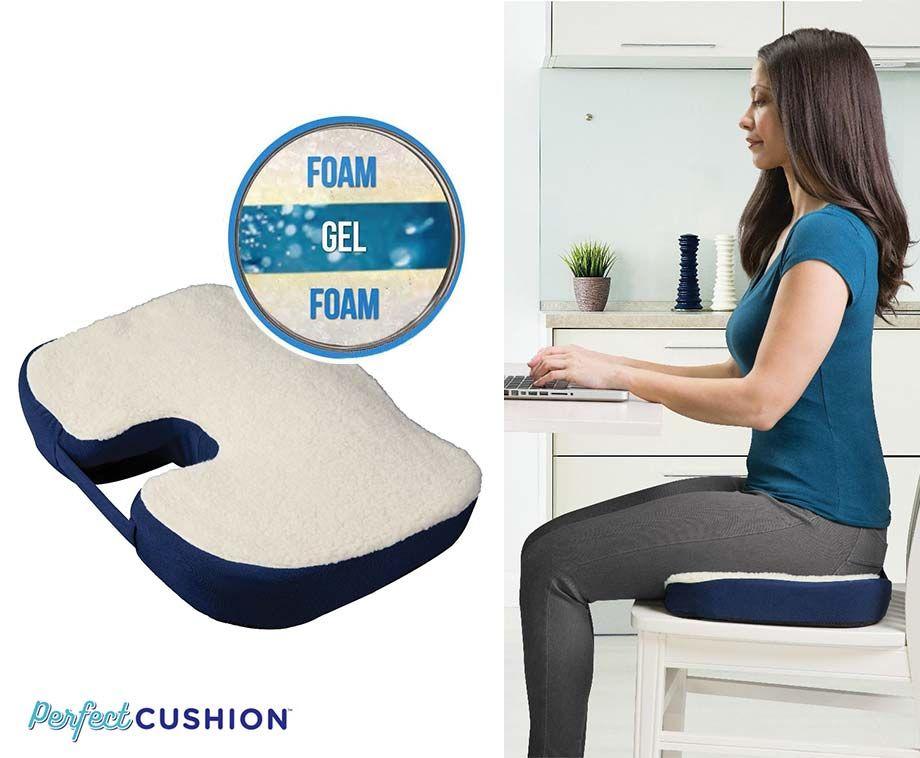 Perfect Cushion - Voor Bureau-, Eetkamer- En Autostoel! ...