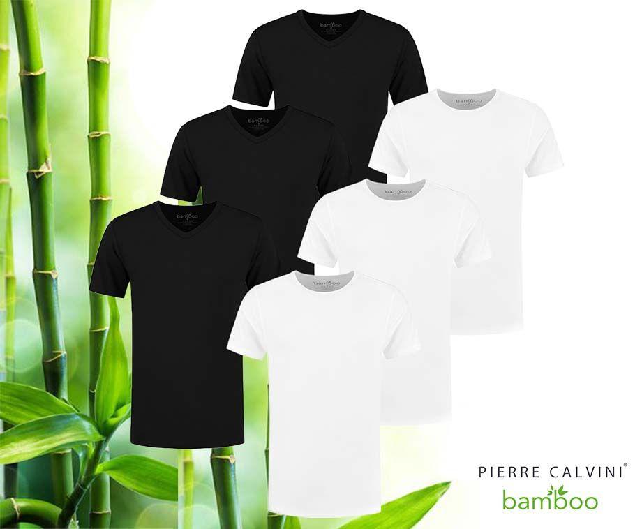 3 Heren Bamboo T-Shirts - Anti-Geur En Supercomfortabel! ...