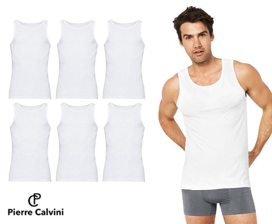 6-Pack Pierre Calvini Hemden - Van Hoogwaardig Katoen! ...