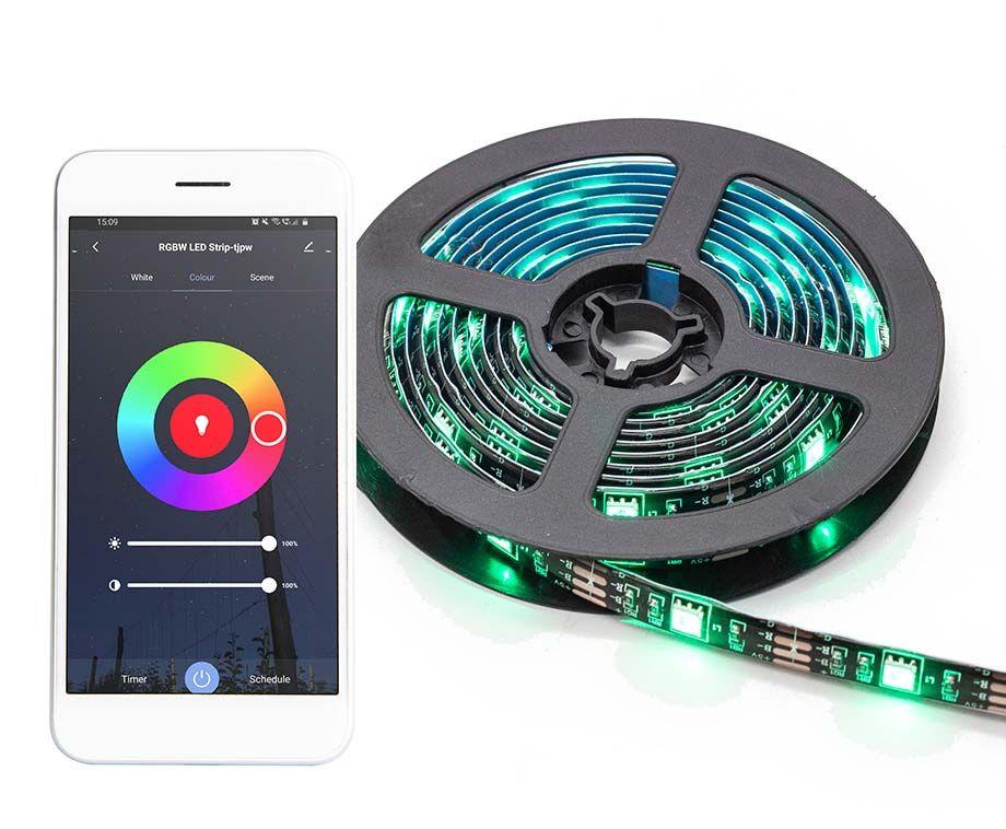 Smart LED Strip 2 Meter - Met Handig Universele Tuya App! ...