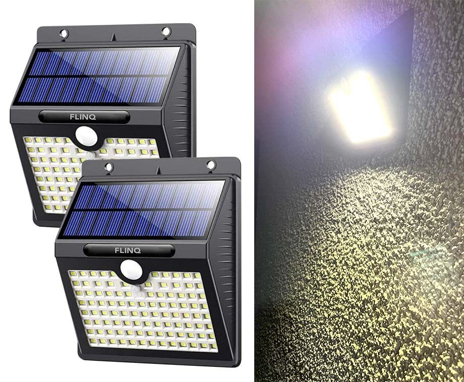 Flinq Solar LED Wandlamp Met Sensor - Vandaag 1+1 GRATIS! ...