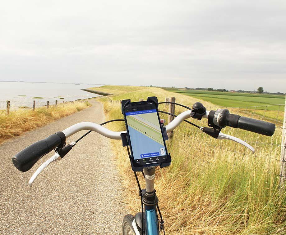 Fiets Telefoonhouder - Eenvoudig Te Bevestigen Aan Het Stuur! ...
