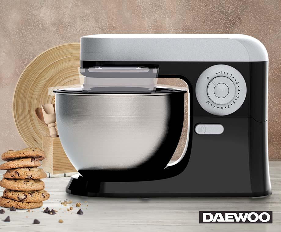 Daewoo Professionele Keukenmachine XL 5 Liter - Voor Bakken En Koken!
