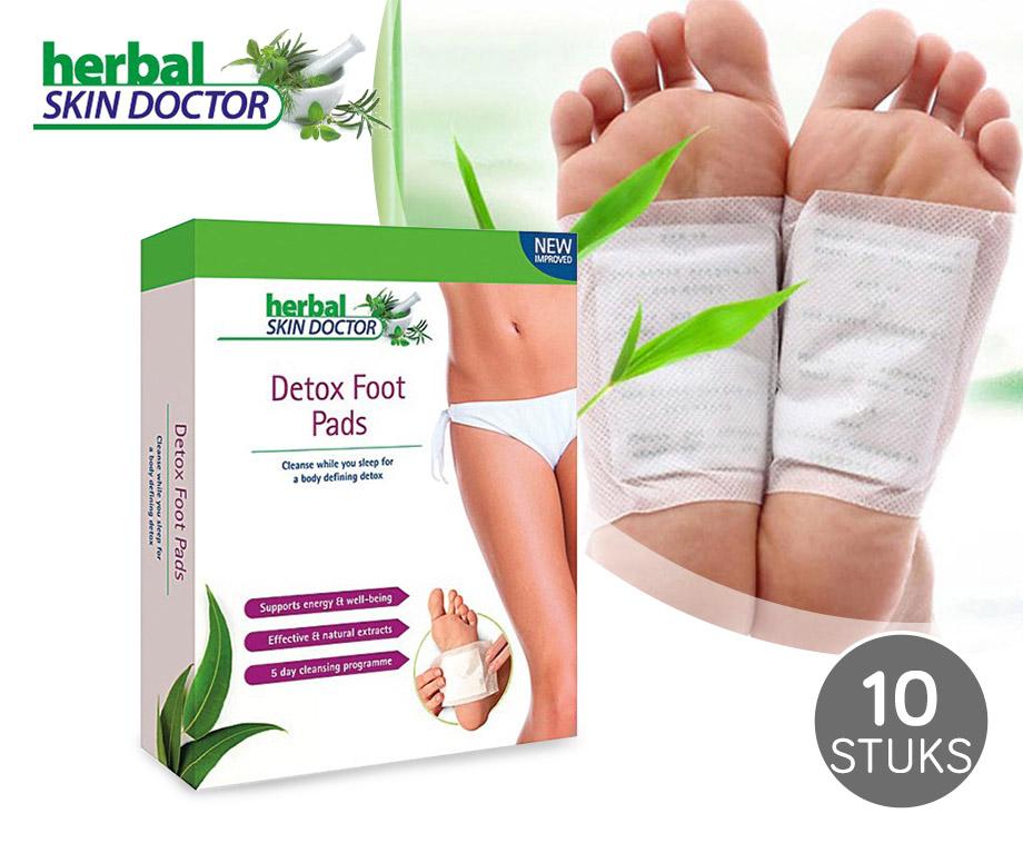Detox Foot Pads - Neemt Afvalstoffen Uit Lichaam Op!