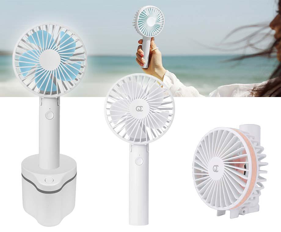 Draadloze Draagbare Ventilator - Optioneel Met Roterende... - Voordeelvanger
