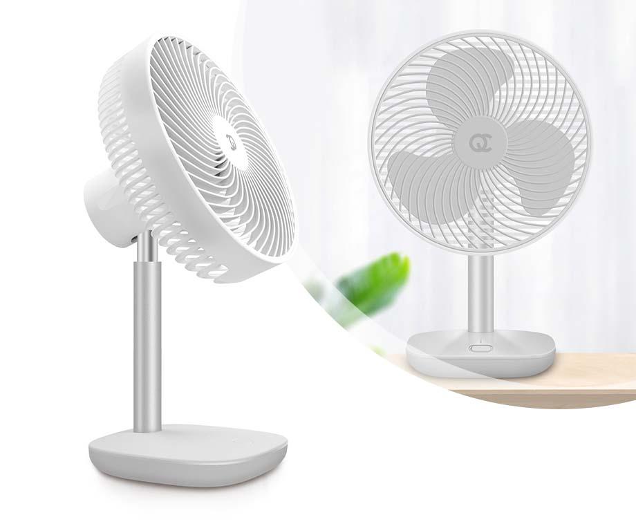 Krachtige Oplaadbare Ventilator