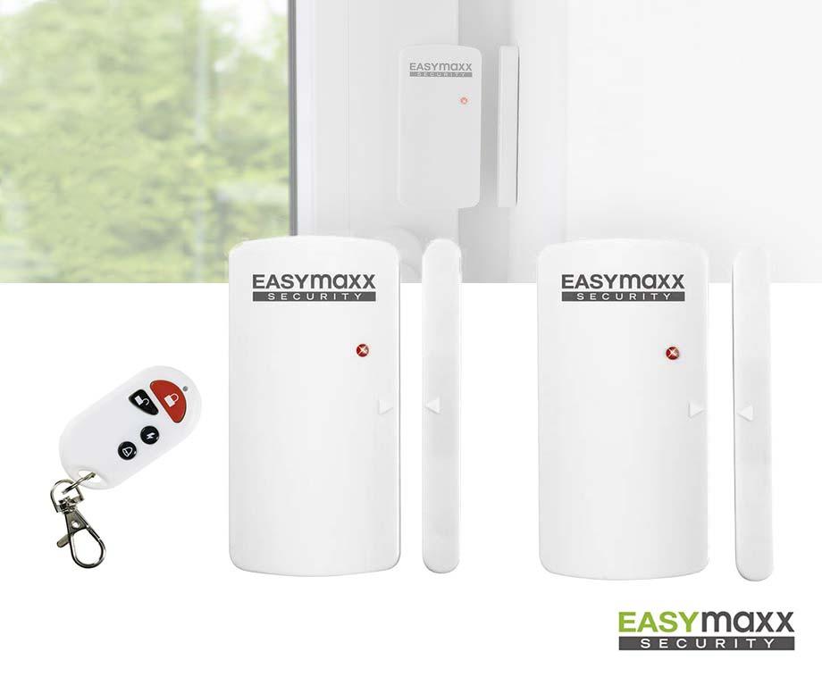 Draadloos Alarmsysteem Voor Deuren En Ramen - Met 2 Sensoren!